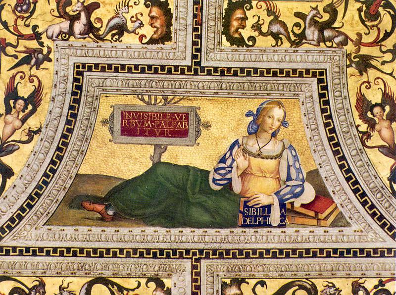 sibila delfica santa maria del popolo pinturicchio