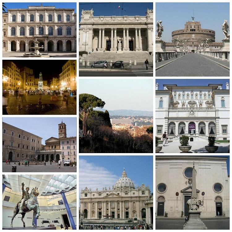 10 lugares turisticos roma