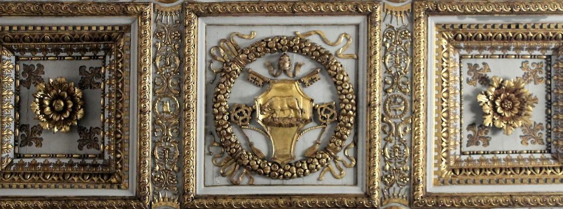 escudo borgia santa maria mayor