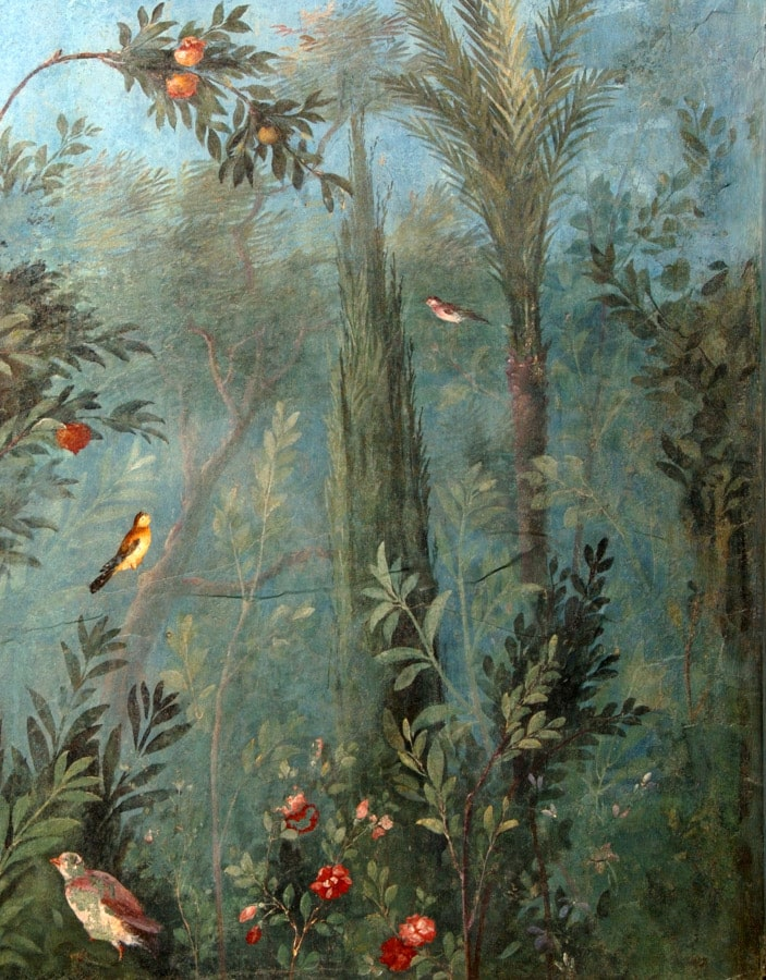 fresco villa livia ad gallinas albas palazzo massimo alle terme