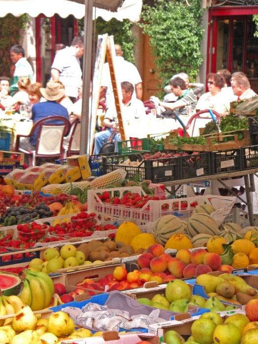 mercado campo dei fiori