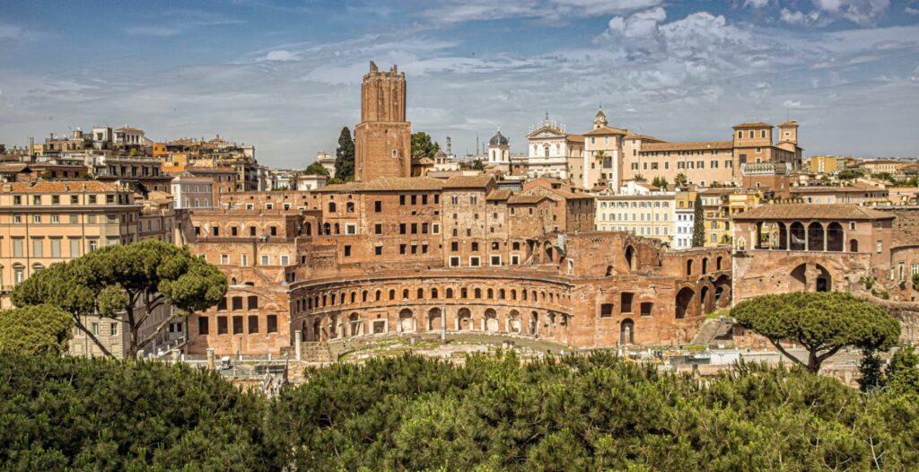 mercado de trajano foros imperiales roma