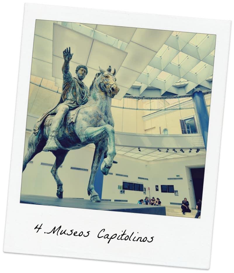 museos capitolinos marco aurelio estatua