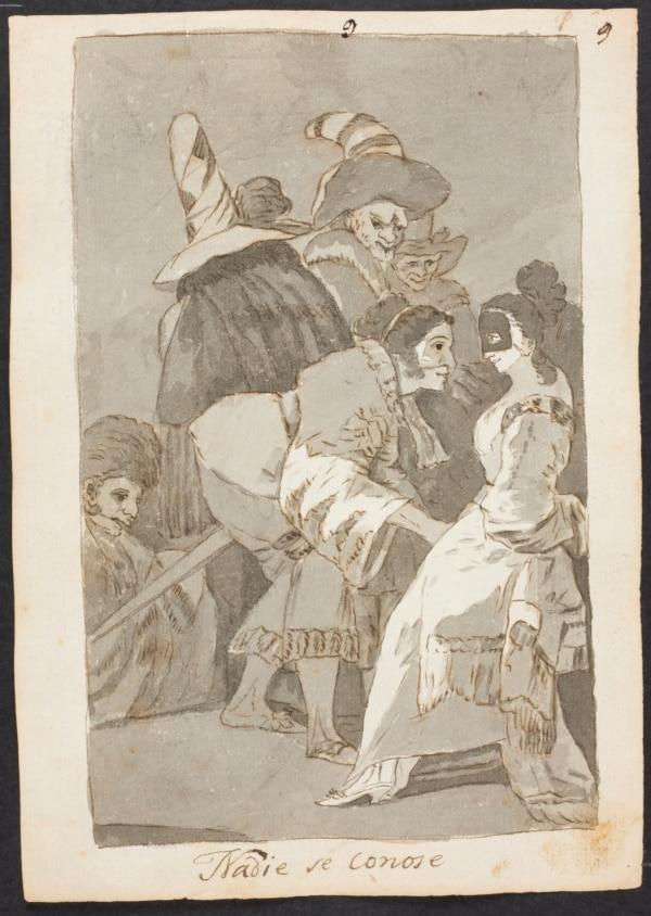 nadie se conoce Goya