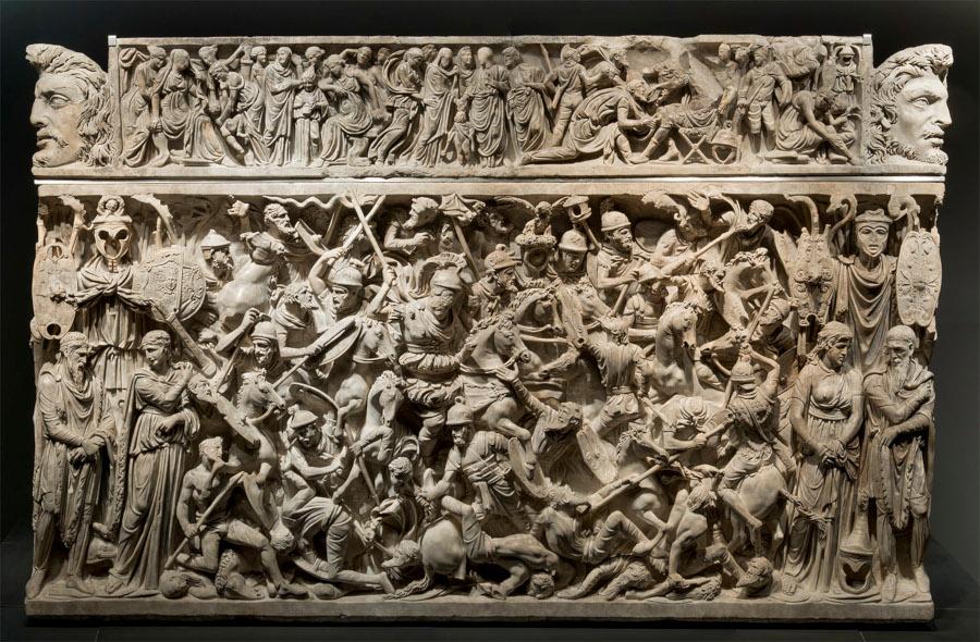 sarcofago edad antoniana palazzo massimo alle terme