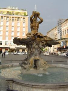 fuente triton plaza barberini