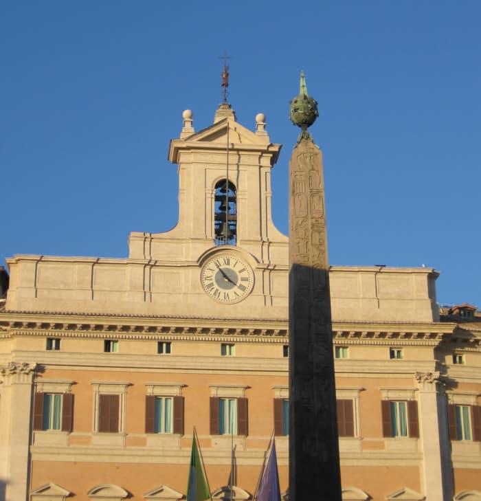 obelisco montecitorio