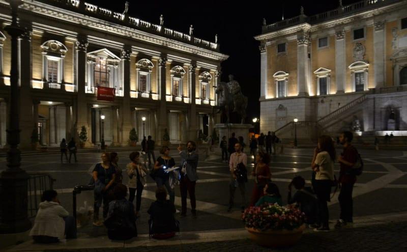 visita nocturna roma campidoglio