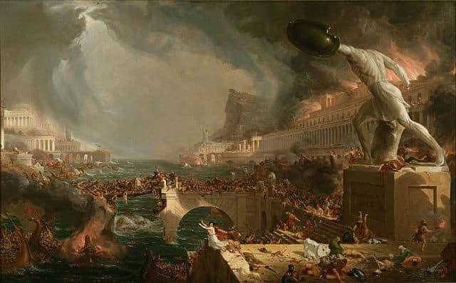 cole thomas el curso del Imperio - la destrucción