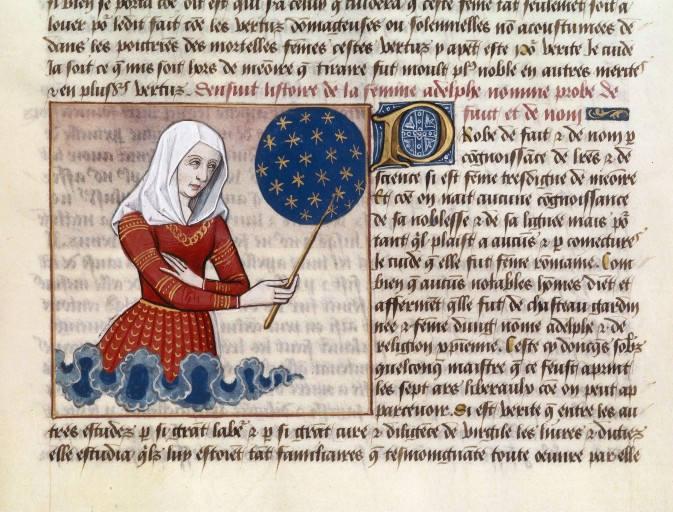 faltonia proba manuscrito de mulieribus claris