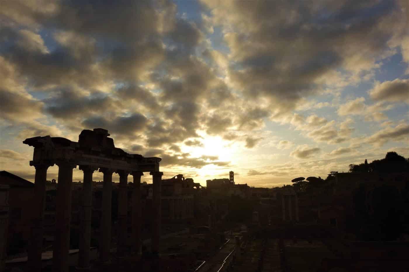 foro romano nubes