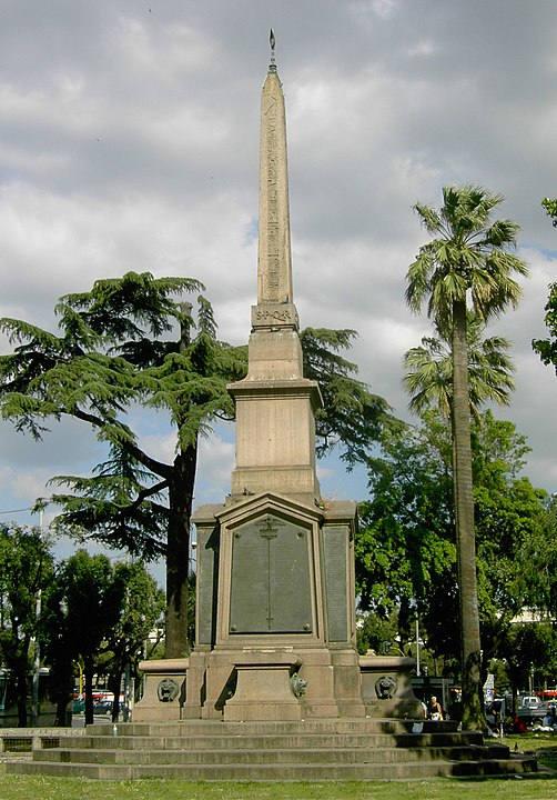 obelisco dogali roma