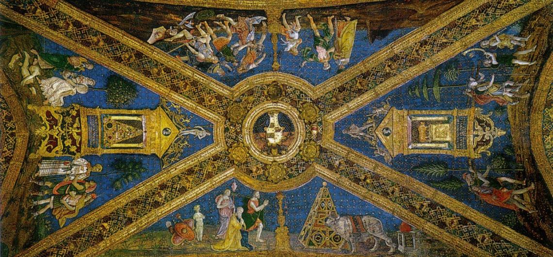 apartamento borgia vaticano mito isis osiris