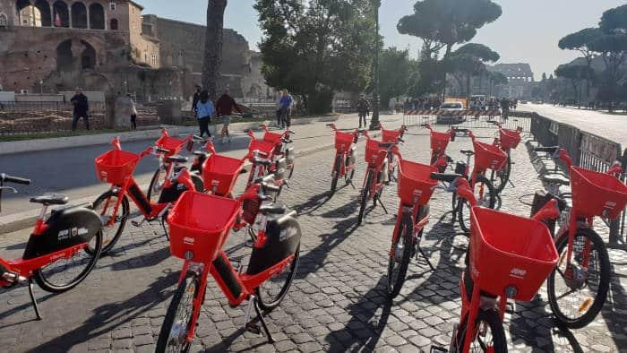 bike sharing alquiler bici roma