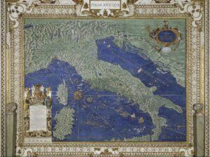 galeria mapas vaticano italia