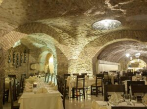sala restaurante terme colosseo
