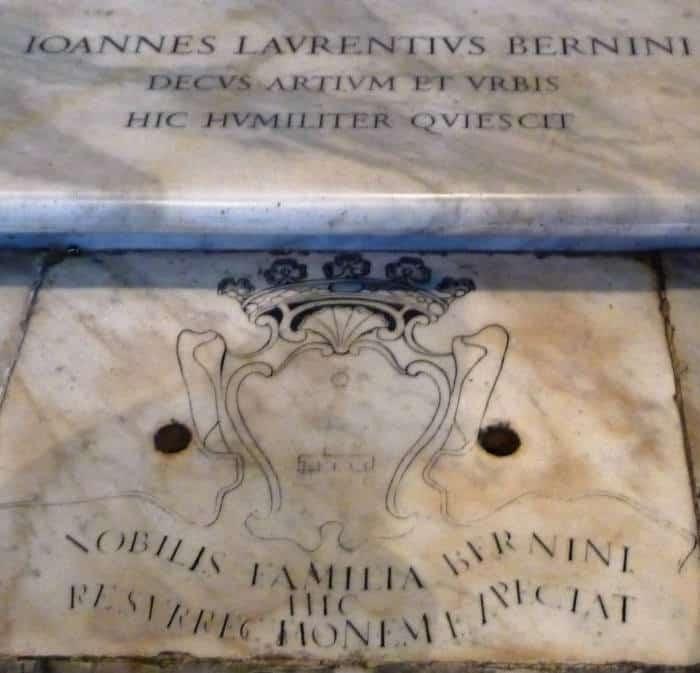 tumba bernini en roma santa maria la mayor