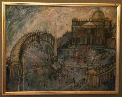 basilica san pedro cuadro gentilini museos vaticanos