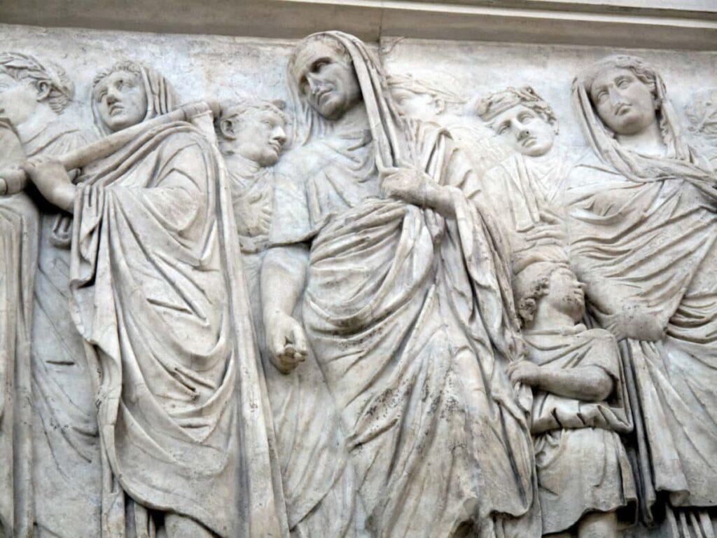 Procesion familia imperial Ara Pacis Roma