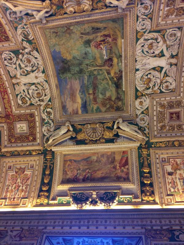 galeria de los mapas museos vaticanos boveda