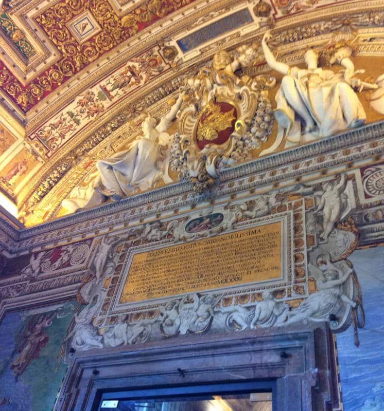 galeria de los mapas museos vaticanos entrada