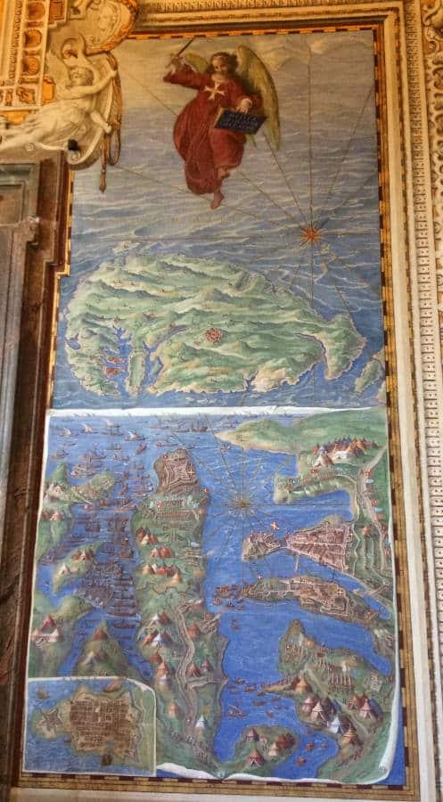 galeria mapas museos vaticanos asedio malta