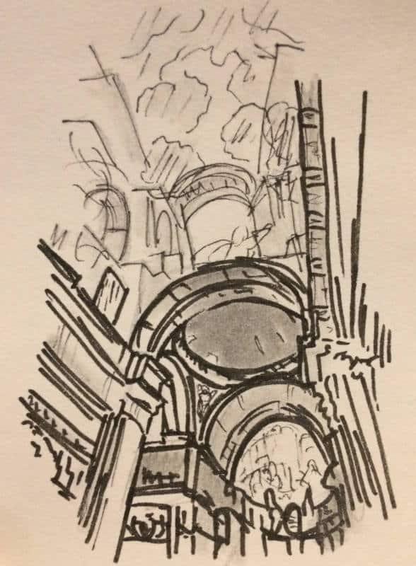iglesia sant ignazio roma barroca