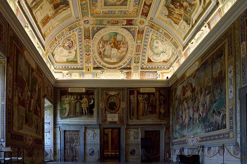 Galería de Carracci palacio farnese roma