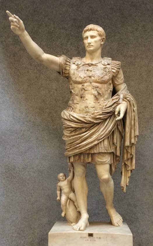 escultura augusto prima porta