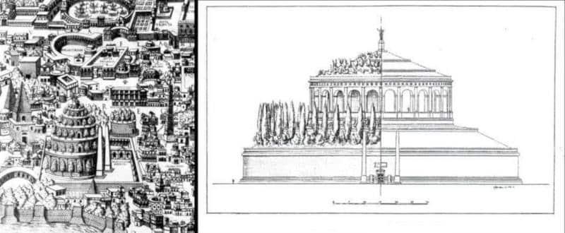 mausoleo de augusto en la antiguedad