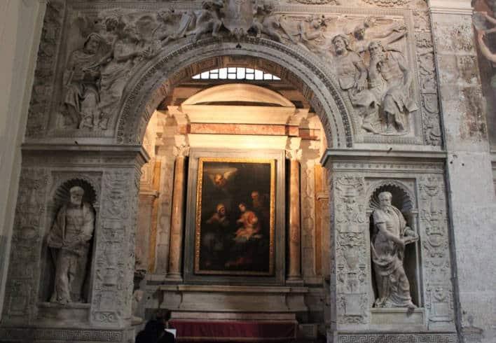 santa maria della pace capilla cesi