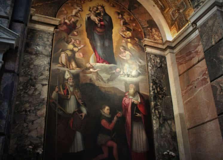 santa maria della pace cuadro