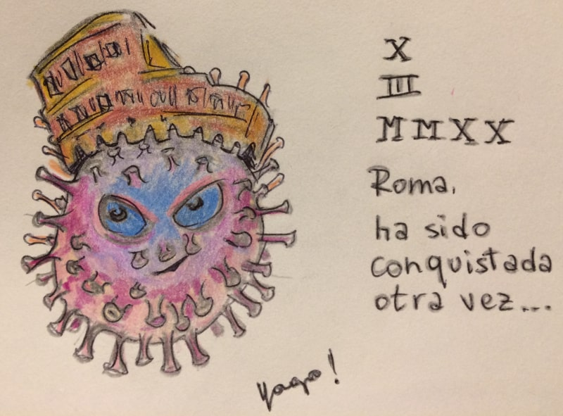coronavirus roma