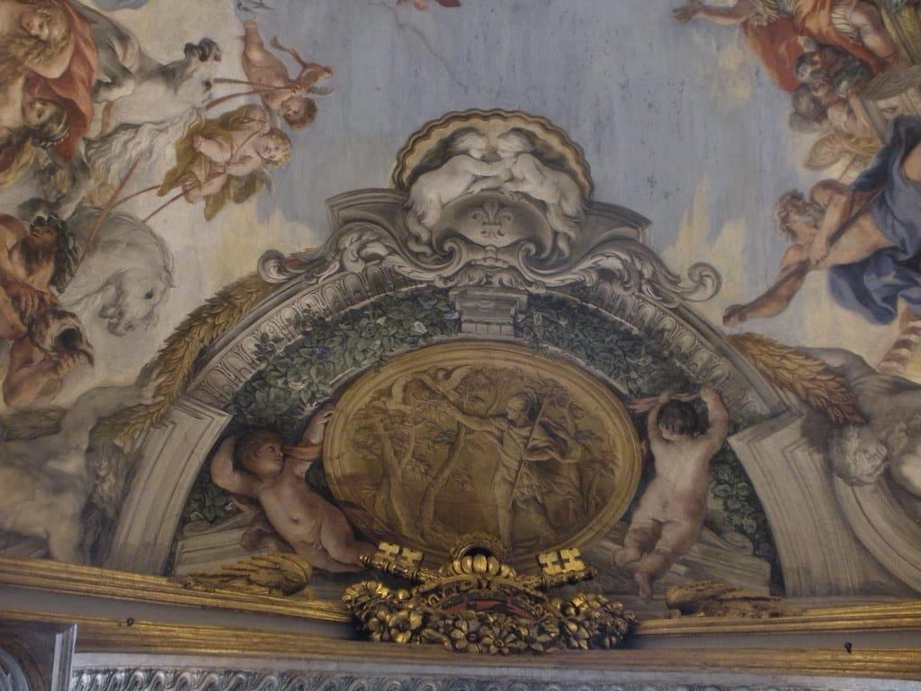 eneas y el ramo de oro palacio pamphilj roma