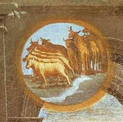 sueño faraon logias raffaello vaticano