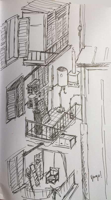 balcones en roma pascua 2020