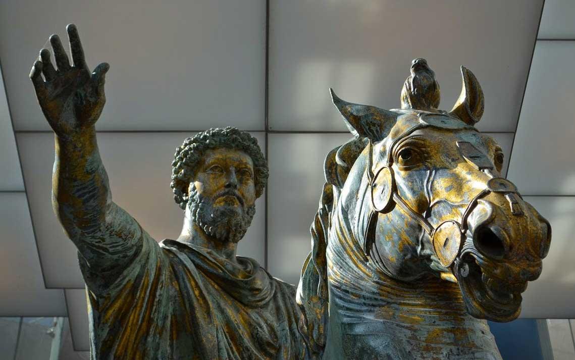 marco aurelio estatua ecuestre museos capitolinos