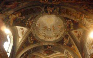 san silvestro al quirinale boveda altar