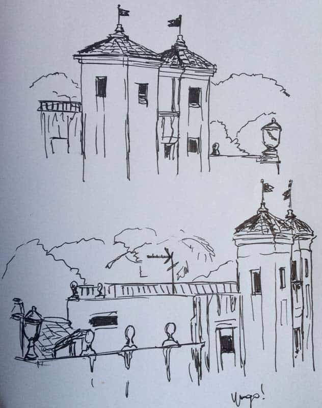 vista torres villa albani