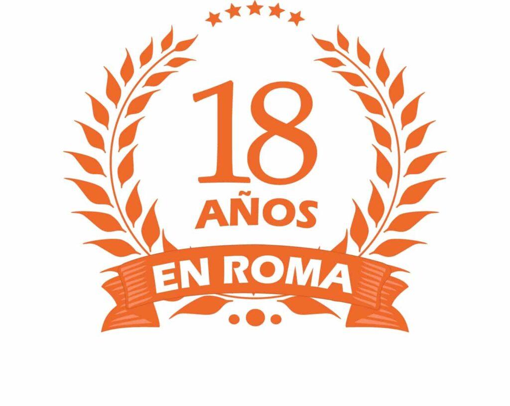 18 años en roma