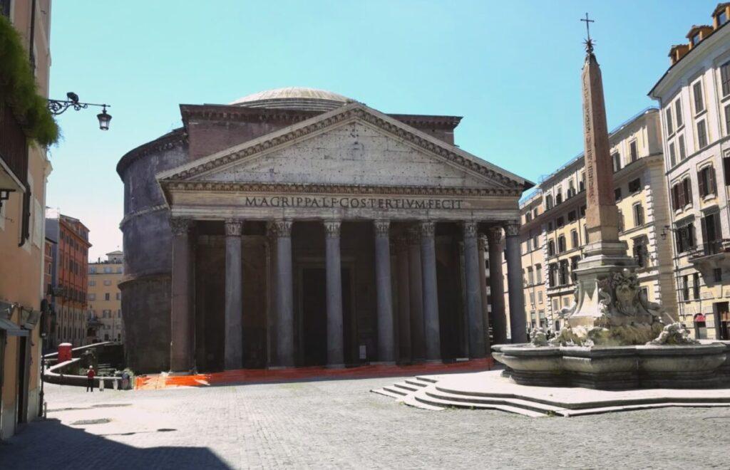 seguro viajar a Roma durante coronavirus