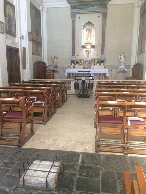 iglesia quo vadis