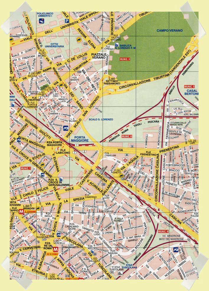 mapa porta maggiore