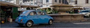 Roma en coche
