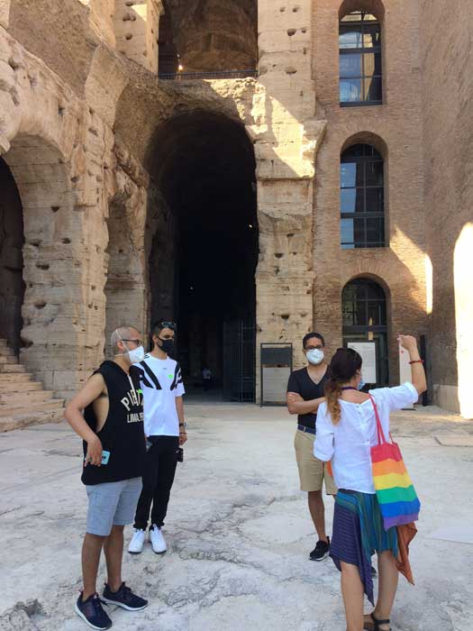 tour coliseo entrada arena