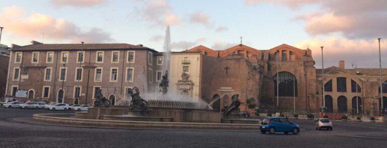 plaza della repubblica esedra