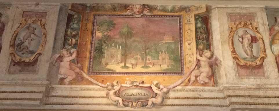 villa iulia fresco zuccari