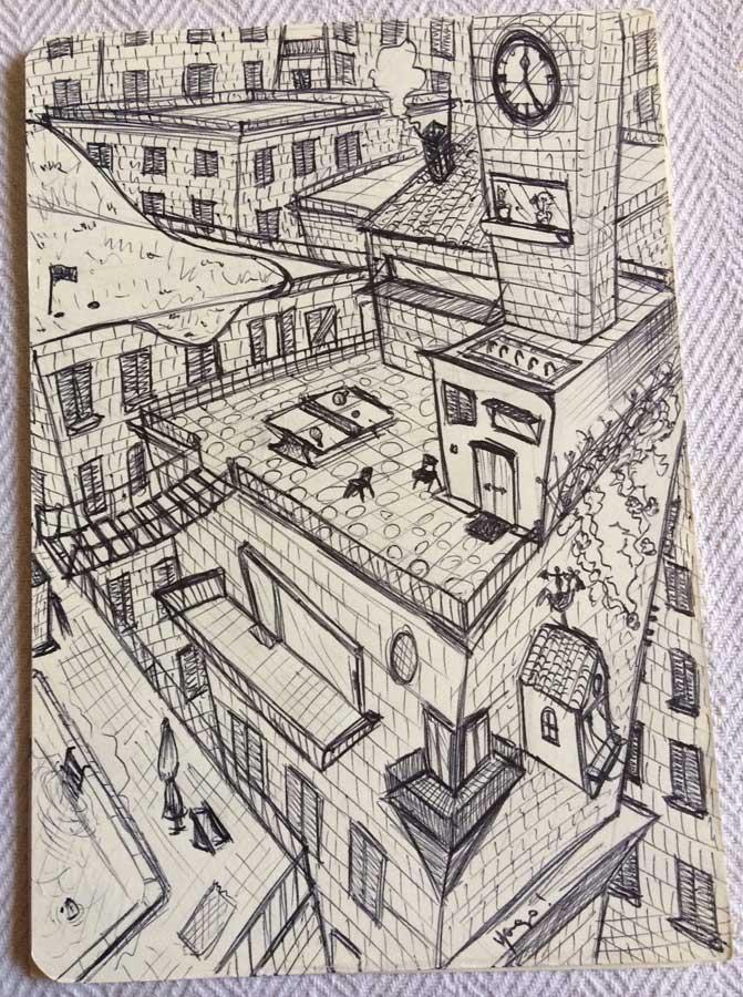 techos ciudad imaginaria yago