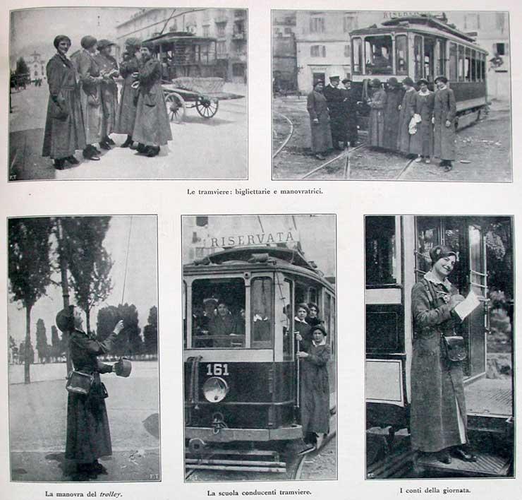 tranvia roma mayo 1917