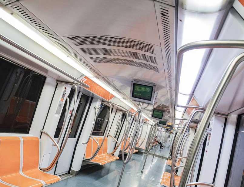 metro roma interior
